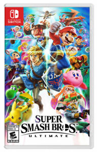 Nintendo Switch Super Smash Bros. Ultimate Brand New - Free Shipping