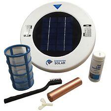 Solar Powered Water Ionizer Chlorine Free Sun Shock Pool Purifier Animal Troughs