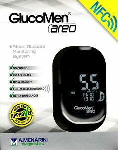 GlucoMen Areo Blood Sugar Monitoring System, Diabetic Care, ISO 2015