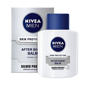 Nivea After Shave Balm Men Silver Protect Refreshes Nourishes Chamomile 100 ml