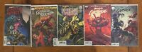 Absolute Carnage #1 Lot of 5 Variants NM Separation Anxiety Amazing Spiderman