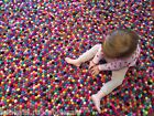 Size 90 - 200 cm Multi-colored Felt Balls Nursery Rug Carpet Mat Round Handmade