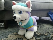 Build a Bear Workshop Paw Patrol Everest Rare!! Plush Soft Toy