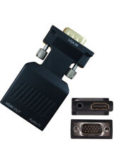 VGA to HDMI 1080P AV Converter HDTV Audio Video Cable Adapter for PC DVD STB KY