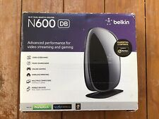 Belkin N600 DB 300 Mbps Wi-Fi N+ Router Dual Band F9K1102 New In Box