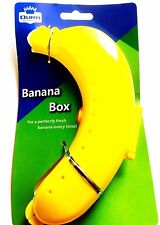 Bolsa de almuerzo la escuela, el trabajo y al aire libre Soporte para caja de plástico recipiente de plátano Caja