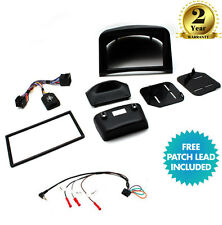 CTKPE02 Double Din Stereo Black Fascia Stalk Fitting Kit for Peugeot 206 02 - 09