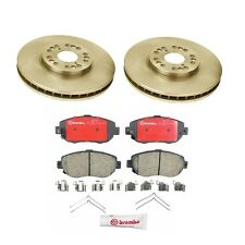 2 Front Disc Brake Rotor & Pad Set Kit for Lexus GS300 GS400 GS430 IS300 SC430
