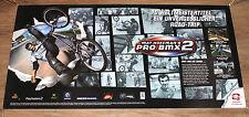 2002 Mat Hoffman's Pro BMX 2 very rare Promo Poster PS2 Xbox 98x49cm