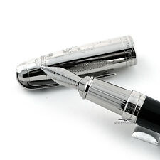 S.T Dupont Napoleon Platinum Plated Limited Edition Fountain Pen #617/1500