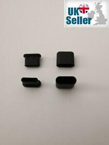 USB-C Anti-Dust Cap Cover Protector Cable & Port pack,2 Plugs & 2 caps,UK Seller