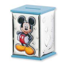Salvadanaio Salvadenari 3d in Argento - Disney Mickey Topolino