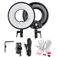 Pro 300 LED Video Ring Light Film Continuous Light 3000K-7000K + Bracket Filter