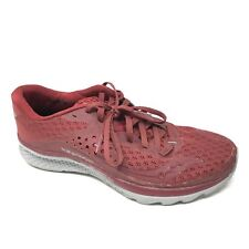 Men's Saucony Kinvara 8 Shoes Sneakers Size 8 Running Maroon Red Gray EverRun R9