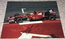 SEBASTIAN VETTEL SIGNED AUTOGRAPHED F1 RACING FERRARI 11X14 PHOTO PROOF #2