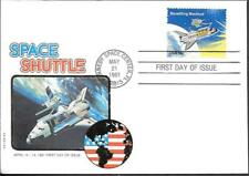 US Space FDC Cover 1981. Shuttle Columbia STS-1. Philswiss ##02