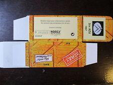 BOITE VIDE NOREV  CITROEN 2CV AZU  1957  EMPTY BOX CAJA VACCIA