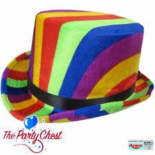 H38537 Fancy Dress St Patricks Green Velour Top Hat Irish Ireland Eire 5//10//15