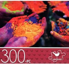 "HANDS 300 Piece Jigsaw Puzzle Hands with Powder Paint 14"" x 11"""