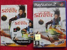 FIFA STREET ORIGINAL BLACK LABEL SONY PLAYSTATION 2 PS2 PAL