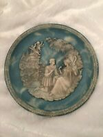 Vintage The Bradford Exchange Collectors Plate The Love Sonnets Of Shakespeare