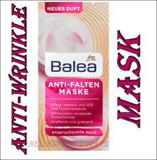 Balea Anti-Wrinkle Face Mask Q10 Hyaluronic Acid Instant Lifting Effect 16 ml