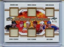 2019-20 Leaf Lumber Kings 6 Sticks of Dynamite 8/35 Jagr Lemieux Messier Fedorov