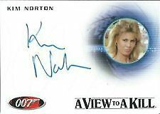 JAMES BOND-50TH ANNIVERSARY SERIES 2 AUTO CARD A167 NORTON/PARTY GUEST