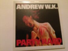 ANDREW W.K. - SPANISH CD SINGLE 1 TRACK PROM0 SPAIN PARTY HARD - HARD ROCK