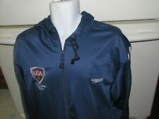 USA Water Polo National team Speedo Jacket with hood Men's Large yum!