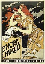 Encre L. Marquet   Vintage Poster   A1, A2, A3