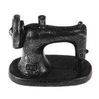 1/12 Dollhouse Miniature Sewing Tools Sewing Machine Model Furniture T Jf