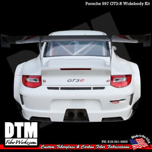 Porsche 997 05-12 GT3-R Cup Race Wing Decklid & Spoiler FRP MADE IN USA
