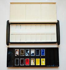 VINTAGE Winsor & Newton watercolour Artists' Deluxe Studio Set 12 Whole Pans