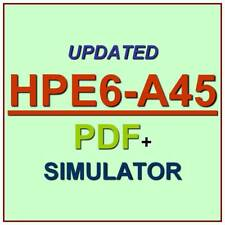 HP Implementing Aruba Campus Switching Solutions HPE6-A45 Test Exam QA+Simulator