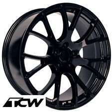 (4) 20 inch Dodge Challenger SRT Hellcat OE Factory Gloss Black Wheel Rims 5x115