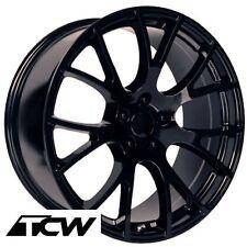 (4) 20 inch Dodge Challenger SRT Hellcat OE Factory Gloss Black Wheel Rims 5x115