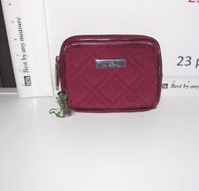 VERA BRADLEY ON THE SQUARE WRISTLET WALLET RAISEN MICROFIBER NWT