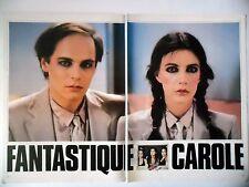 COUPURE DE PRESSE-CLIPPING : Carole LAURE Lewis FUREY [4pages]10/1979 Fantastica