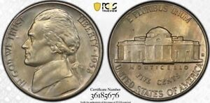 1938-S Jefferson Nickel PCGS MS66 Lustrous Gem!