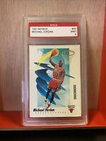 1991 Skybox #39 Michael Jordan Chicago Bulls HOF GRADED MINT 9