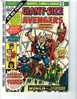 Giant-Size Avengers #1 (Aug 1974, Marvel) Free Ship