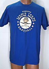 Toronto Maple Leafs Ebbets Field Flannels t Shirt Large Blue Baseball unisex