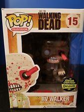 Funko Pop! The Walking Dead BLOODY VERSION RV Walker #15 GEMINI EXCLUSIVE!