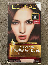 L'Oreal Paris Superior Preference Hair Color Permanent Burgundy 4B NEW