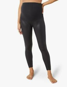 Beyond Yoga Maternity Women's Pearlized High Waist Legging in Black Size SMALL