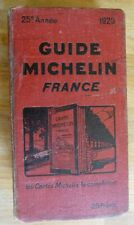 1929 GUIDE ROUGE MICHELIN