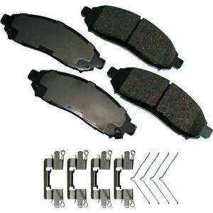 Disc Brake Pad Set-ProACT Ultra Premium Ceramic Pads Front Akebono ACT1094