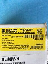 Brady B30 R10000 Black Printer Ribbon 433 X 200 Feet Bbp31bbp33bbp35bbp37