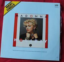 Madonna, holiday / lucky star,  Maxi Vinyl